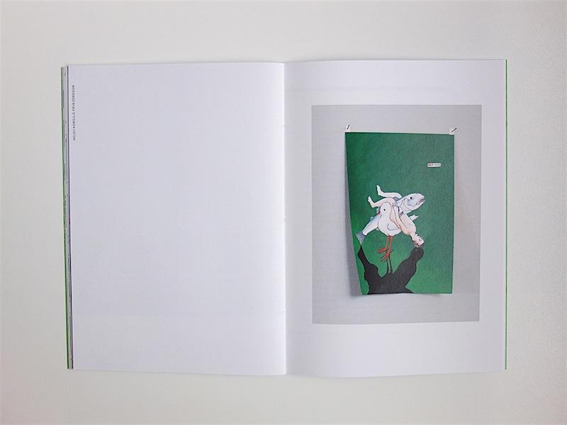 Holger Bunk (Stuttgart/Amsterdam), Helgi Thorgils Fridjonsson (Reykjavik), Lars Ravn (Copenhagen), catalog for group-exhibition, ASÍ Art Museum in Reykjavik (spread) / © Gabriele Götz