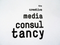 Corporate Identity for 'The Creative Media Consultancy', Amsterdam (stamp) / © Gabriele Franziska Götz