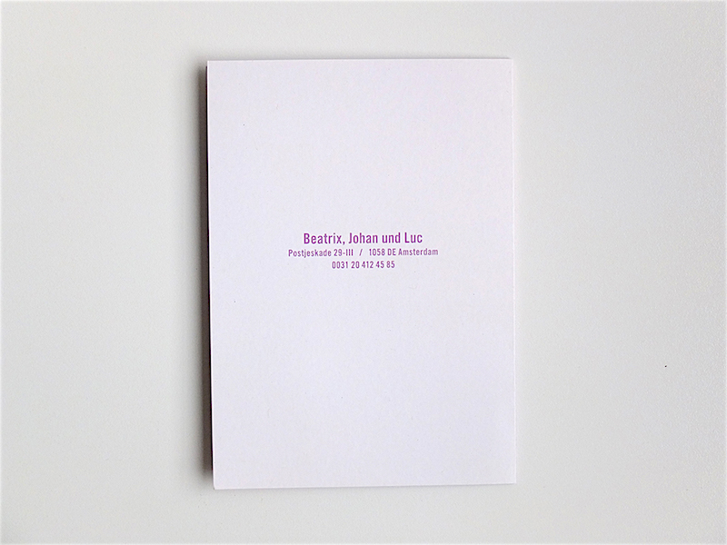 Birthday card 'Dahlia-Ida' / © Gabriele Franziska Götz