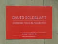 David Goldblatt: intersections intersected (invitation card) / © Gabriele Franziska Götz