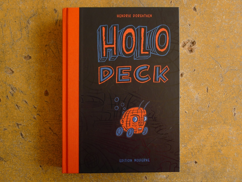 Hendrik Dorgathen: 'Holodeck', exhibition catalog (cover) / © Gabriele Franziska Götz