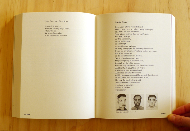 Marlene Dumas: 'Sweet Nothings. Notes and Texts 1982–2014' (spread) / © Gabriele Götz