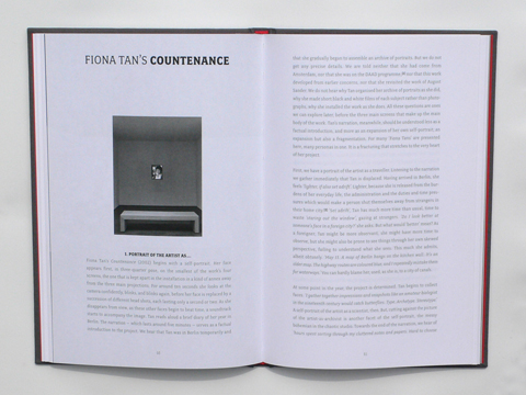 Fiona Tan: Countenance (spread) / © Gabriele Götz