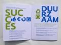 Corporate Identity for \'GoedeRaad voor ontwikkeling van commerciële organisaties\' (portfolio folder) / © Gabriele Götz