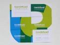 Corporate Identity for 'GoedeRaad voor ontwikkeling van commerciële organisaties' (business cards) / © Gabriele Götz