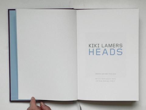 Kiki Lamers: Heads (title page) / © Gabriele Götz