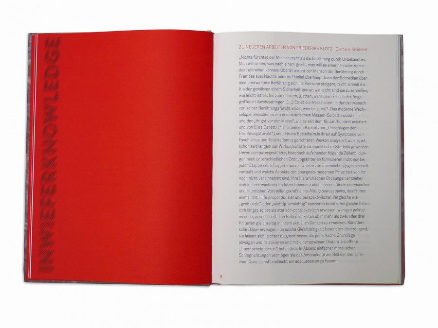 Friederike Klotz – »Inwieferno«   catalog   Kunstmuseum Bochum (editorial)