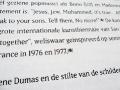 Marlene Dumas: Man Kind (typography) / © Gabriele Götz