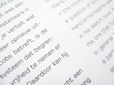 Henri Jacobs: Écritures pictographiques (typography) / © Gabriele Franziska Götz