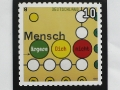 special issue stamp (commemorative stamp) »Mensch ärgere dich nicht« for 'Deutsche Post' / © Gabriele Götz