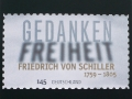 special issue stamp (commemorative stamp) »Friedrich von Schiller« for 'Deutsche Post' / © Gabriele Götz